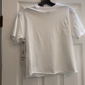 Sunday best White T NEW WITH TAGS